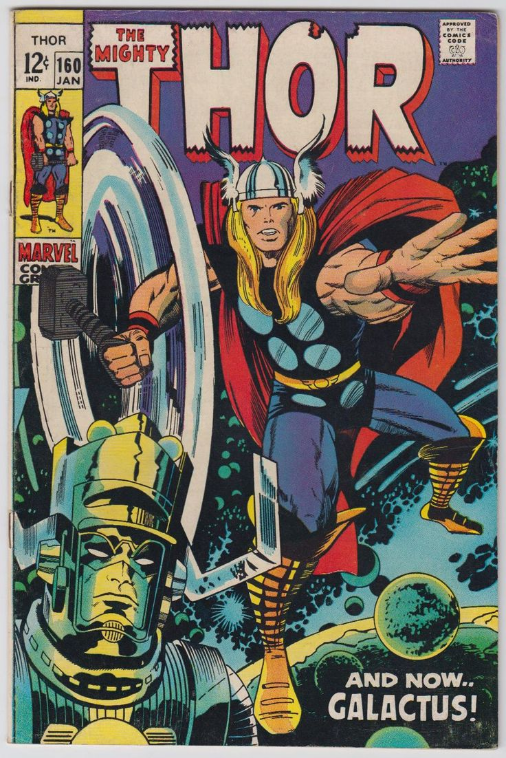 Classic Comic Book Cover Art ~ Mighty thor covers silver age