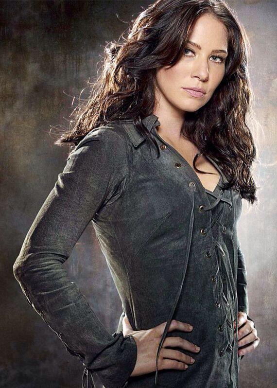 """Lynn Collins as Kayla Silverfox in """"X-Men Origins - Wolverine"""""""
