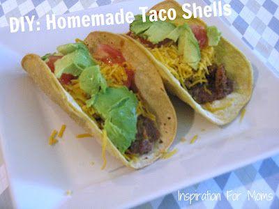lowfat baked taco shells