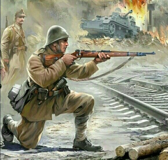 Romanian infantry, eastern front - pin by Paolo Marzioli