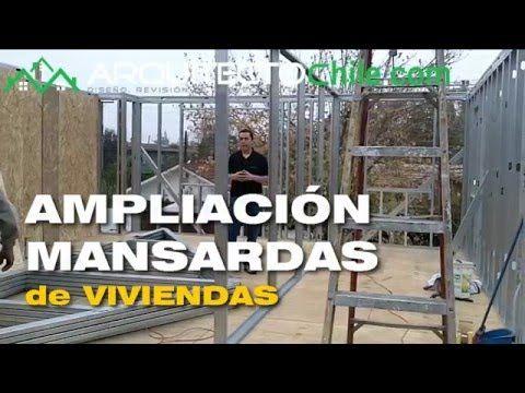 Mansardas de Casas con  Tabiqueria de Steelframe