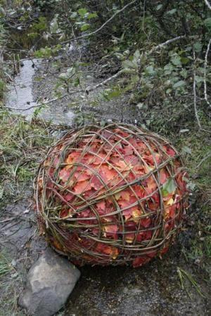 Un automne Land Art au Mont-Ham | Zoné Vert
