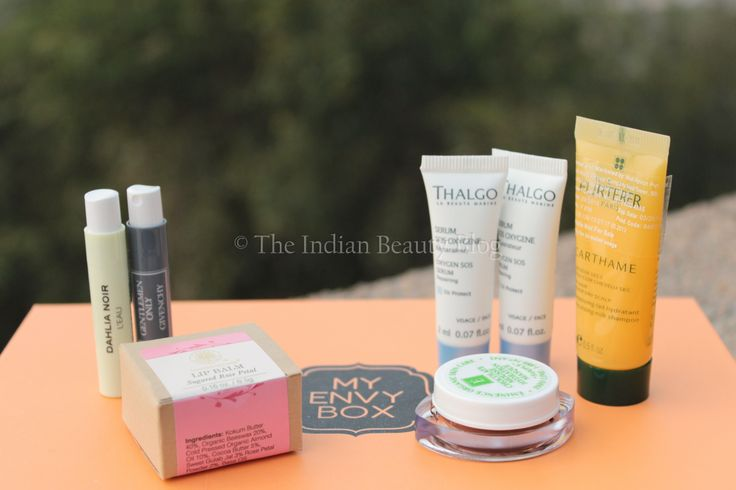 My Envy Box this month! Love it! <3