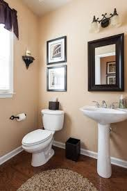 Nice Half Bath Pedestal Sink Decorating Ideas   Google Search
