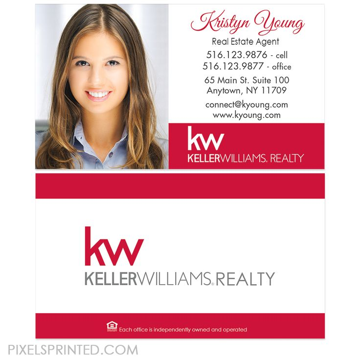 Más de 25 ideas increíbles sobre Keller williams business cards en ...