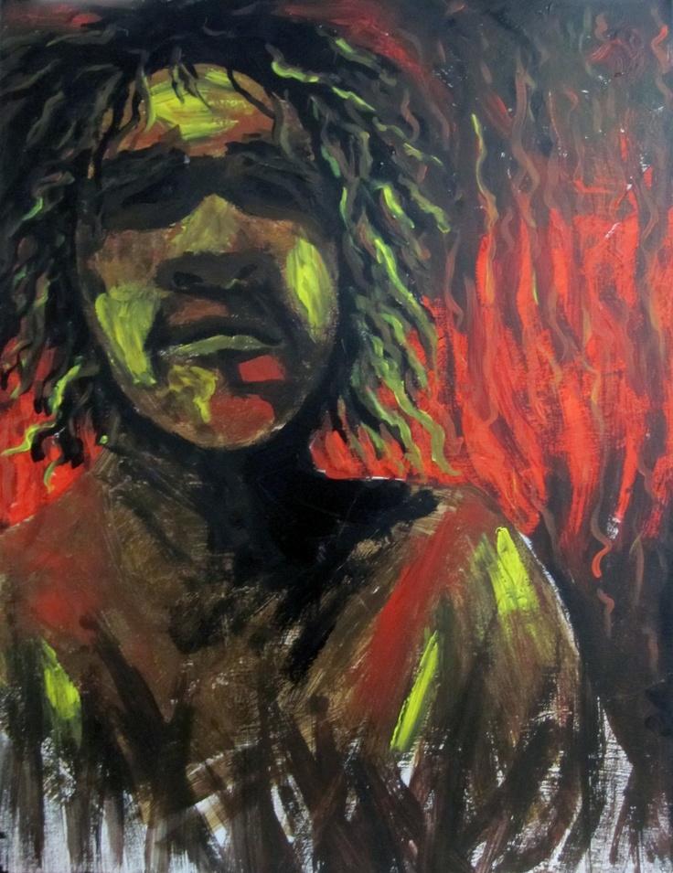 2011 Aboriginal and Torres Strait Islander Visual Art Lisa Lynch-Glass 'Broken'