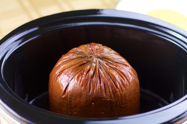 How to Bake a Precooked Ham in the Crock Pot | The o'jays ...