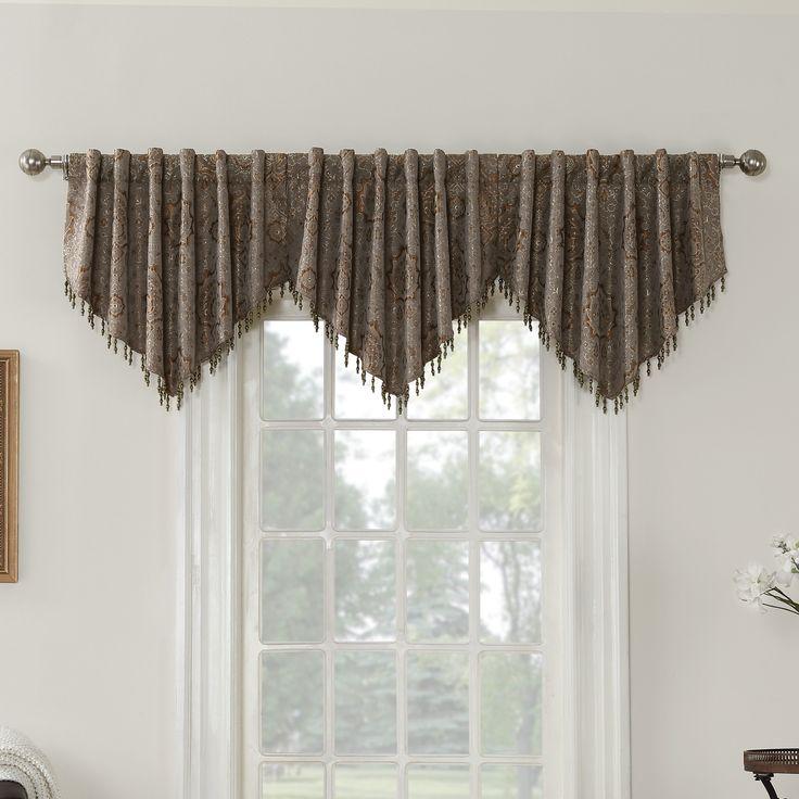 beaded curtain topper Sun Zero Selik
