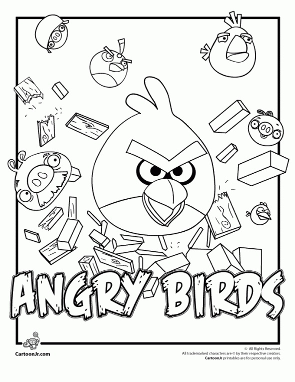 52 best Homemade Toys images on Pinterest Children, DIY and - fresh angry birds go jenga coloring pages