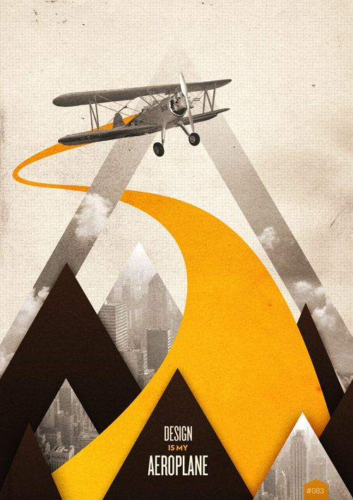 Design is My Aeroplane poster