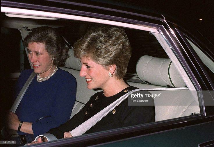 October 9 1991 Diana in Geneva Switzerland for the Red Cross