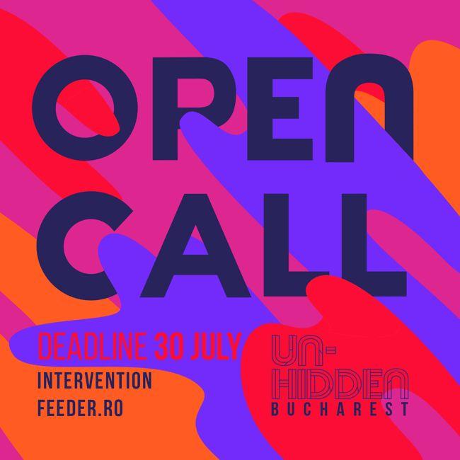 [scroll for EN] OPEN CALL Un-hidden Bucharest INTERVENȚIE ARTISTICĂ // SEMNAL URBAN w/ #FLUID @ CNDB, sala Omnia  Save or Cancel te invită să colorezi spațiul public din fața Sălii Omnia, Buc…