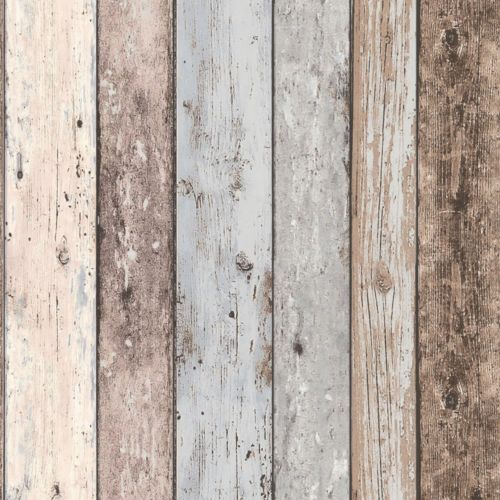 Grey 8550 39 Realistic Distressed Wood Panel New England A s Creation Wallpaper | eBay