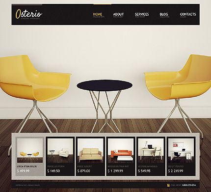 41 best Interior Design WordPress Themes images on Pinterest ...