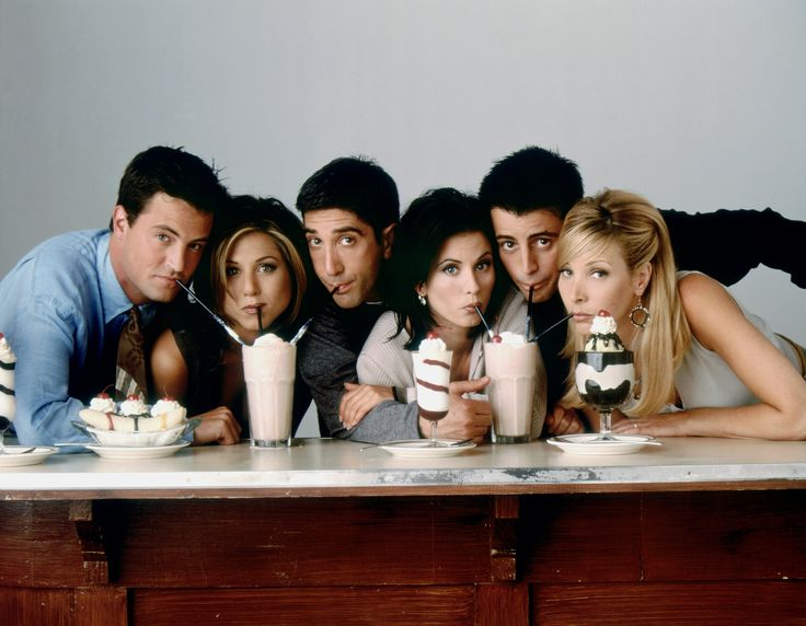 Friends draait om een groep van zes vrienden: Rachel Green, Ross Geller, Monica Geller, Chandler Bing, Joey Tribbiani en Phoebe Buffay. De zes vrienden wonen en werken in Manhattan, New York en delen 10 seizoenen lang hun levens met elkaar in hun appartementen en het koffiehuis om de hoek 'Central Perk'.
