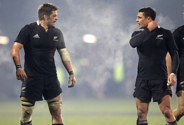Dan Carter and Richie Mccaw Photo - New Zealand v Ireland