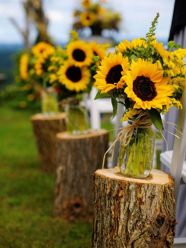 Decoração de casamento no campo | As 10 melhores e mais pinadas na França