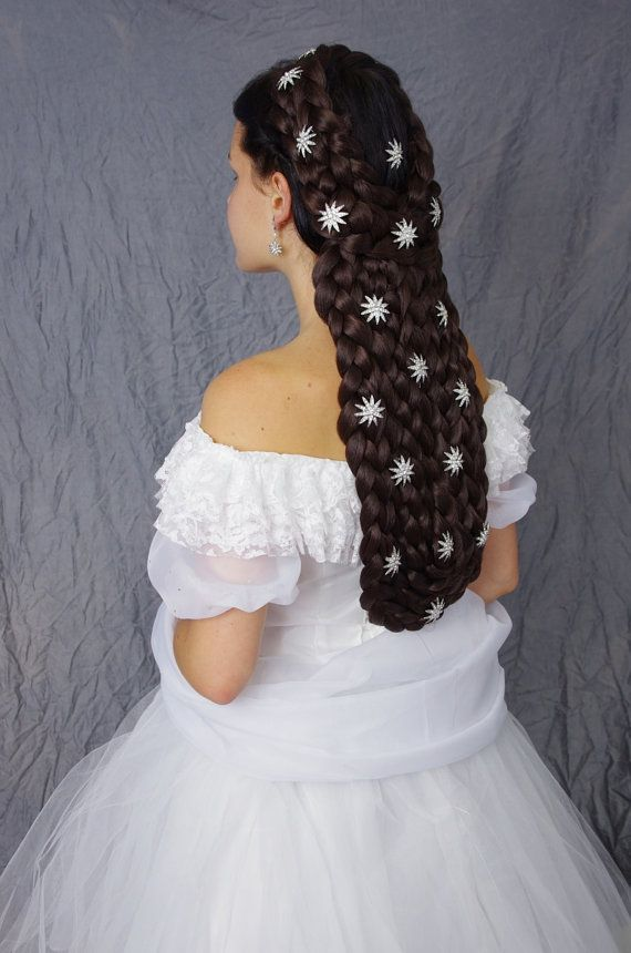 Empress Sissi  large braided hairpiece  by FancyNancyHairUpdos