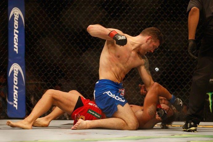 UFC 187 Chris Campeão.
