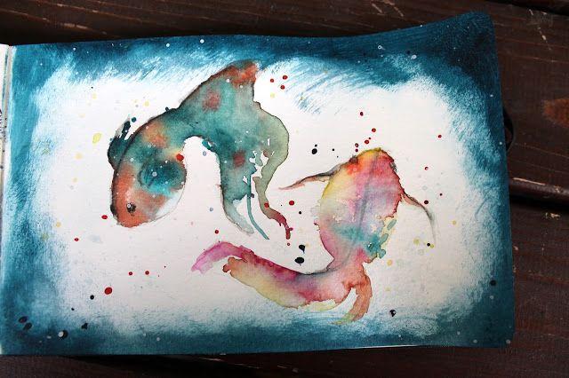 Aromaattista arkea askarrellen : Fishes