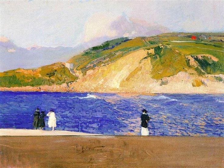 Monte Ullia, San Sebastian, 1909 - Joaquín Sorolla