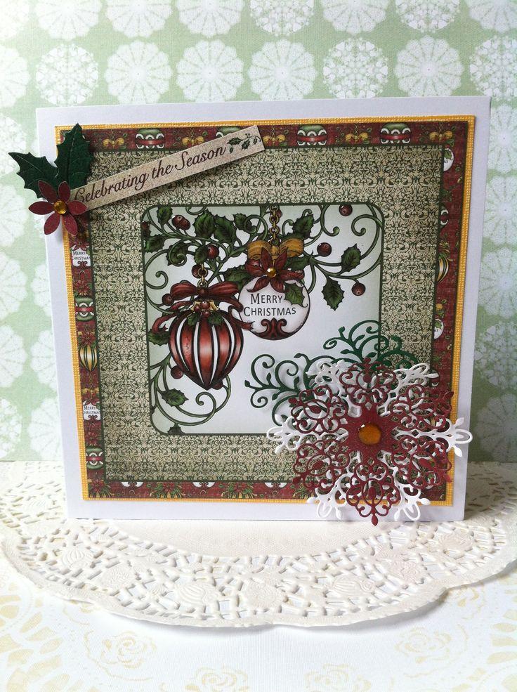 Heartfelt Creations Festive Christmas collection.