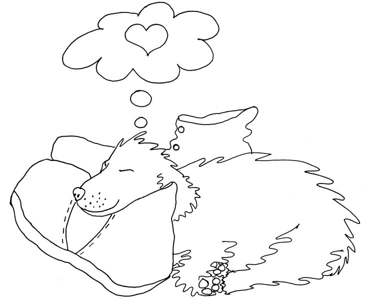 puppyluv coloring pages - photo #25