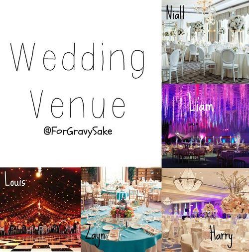 OOOH Our Wedding Venue Someday I Like My 1D Fav Guys