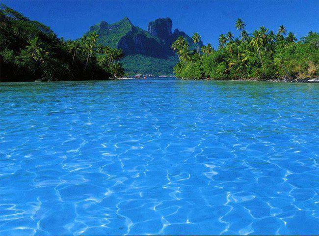 Bora Bora...I honeymooned there! Take me back
