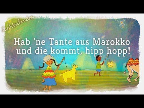 Tante aus Marokko - Lichterkinder | Kinderlieder | Bewegungs - und Laternenlieder - YouTube