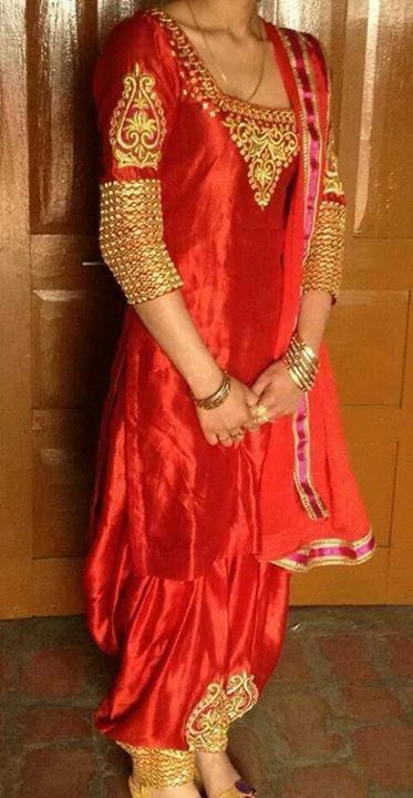 Salwar Kameez And Red On Pinterest