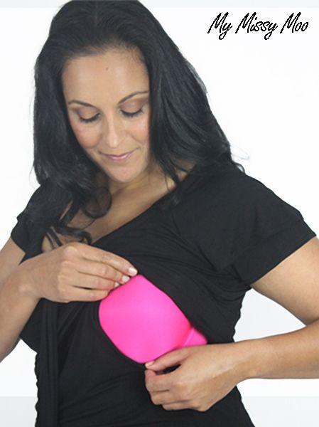 Milkt Breastfeeding Top (Midnight Black) by My Missy Moo - $59.95