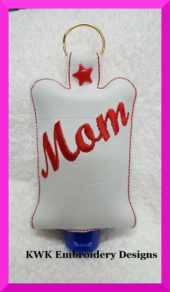 Mom Hand Sanitiser Holder Snap Tabthe Sanitiser Holder Is All Done
