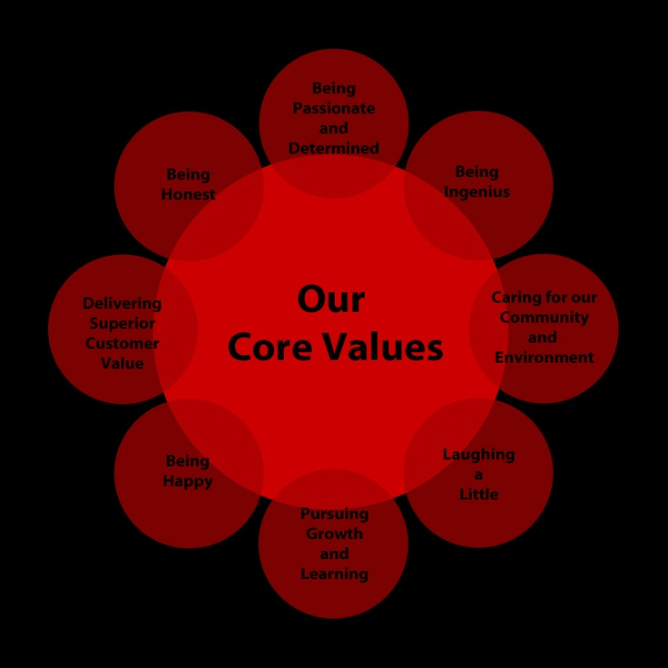 Our Organizational Culture and Business Strategies are continuously defined by our Core Values.