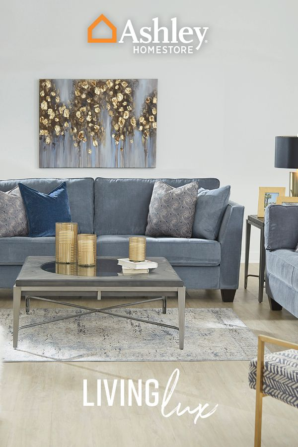 Living Lux With Ashley Homestore Living Room Inspo Living Room Goals Ashley Home