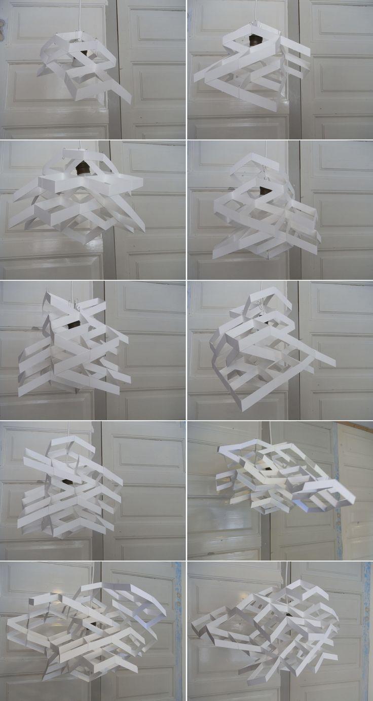 Diamond Light Shade Craft eBook (JW006) Exploration of cloud theme