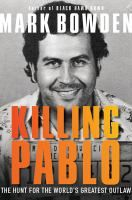Killing Pablo is the story of the violent rise and fall of Pablo Escobar, the head of the Colombian Medellin cocaine cartel. Escobar's criminal empire held a nation of thirty million hostages in a reign of terror that would end only with his death. In an intense, up-close account, award-winning journalist Mark Bowden exposes details never before revealed about the U.S.-led covert sixteen-month manhunt.