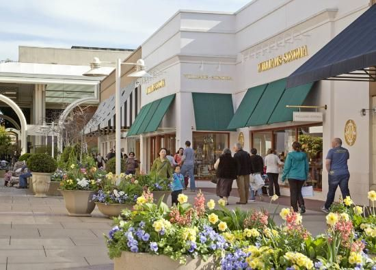 Stanford Shopping Center - Palo Alto, California.  ...This was my local and favorite shopping center to spend a day