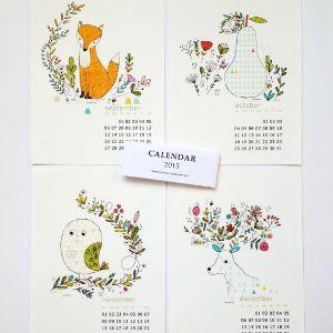 Creative Mindly: Los calendarios más bonitos para 2015