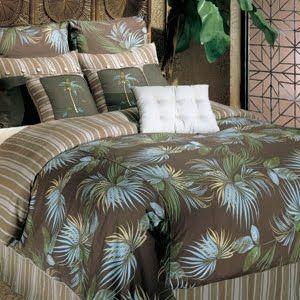 Palm Tree Bedding Decor | Palm Tree Decor: Nine Piece Palm Bedding