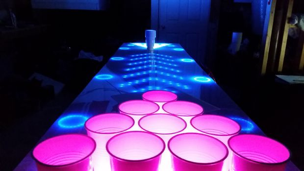 25 Best Ideas About Led Beer Pong Table On Pinterest Beer Pong Tables Beer Party Themes And