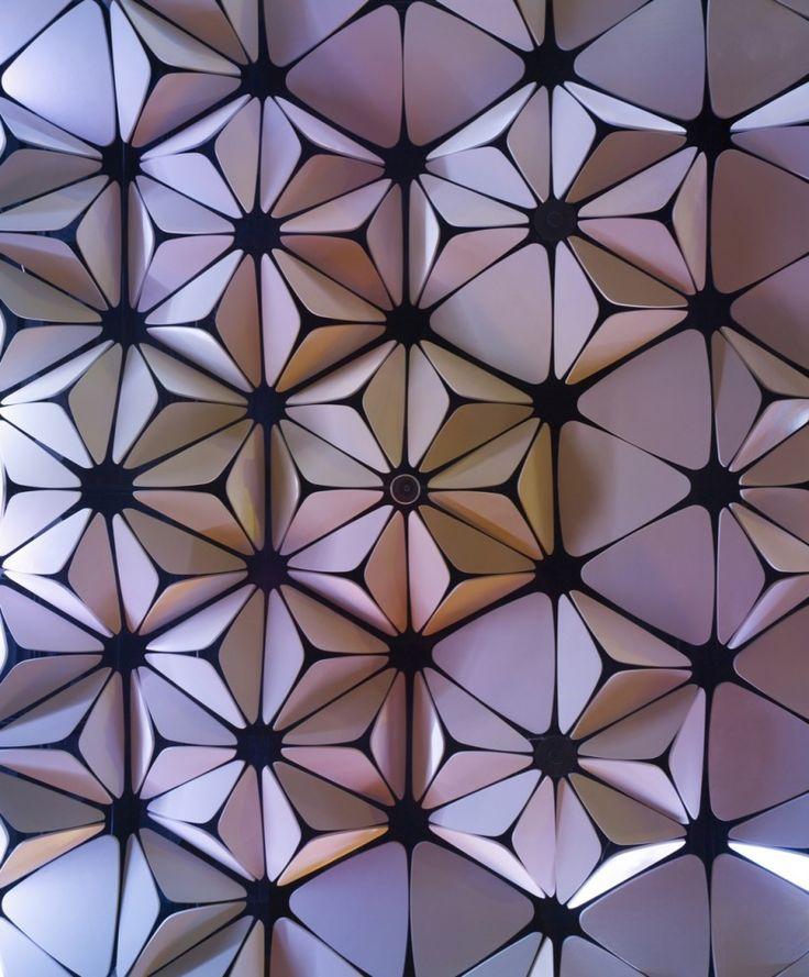 Ceiling Pattern: Belzberg Architects