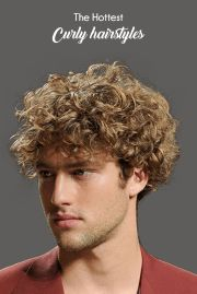 The Hottest Curly Hairstyles For Men