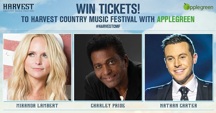 "**FREE TICKET GIVEAWAY** Thanks to everyone who came to our sites this week to see some of the stars from this year's Harvest Country Music Festival  This first ever festival is taking place on Sat 26th & Sun 27th August in Enniskillen and Westport.   To celebrate we are giving away FREE passes.  To enter just LIKE Applegreen and COMMENT which festival location you'd like to attend.  Winners will be notified on Wednesday 2nd August. #HarvestCMF  ""This promotion is in no way sponsored…"