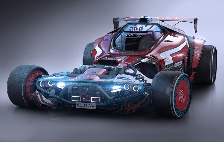 ArtStation - Axiom Feral Racer, Igor Sobolevsky