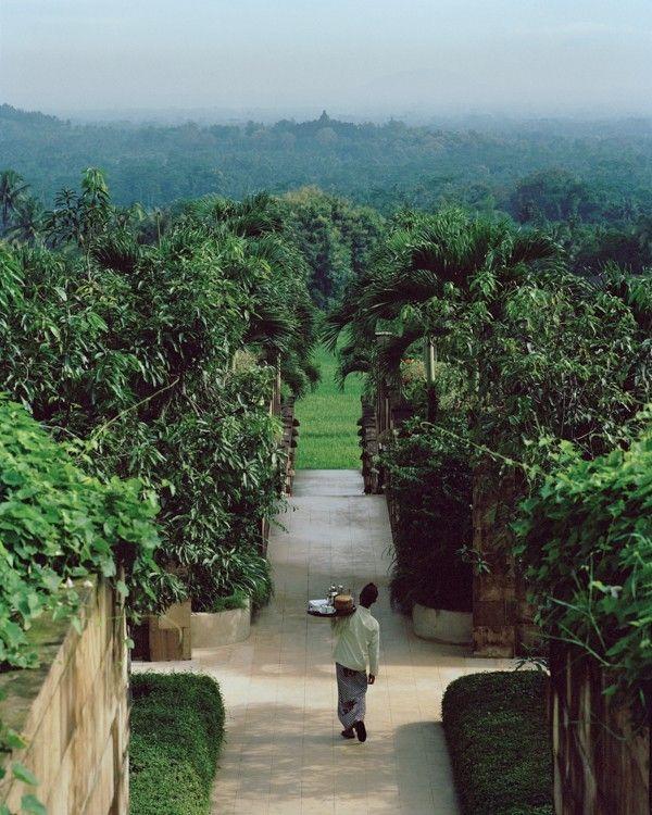 View of Borobudur