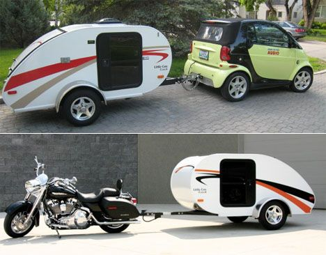 The return of the teardrop trailer - if these can, my little Chevy can too......