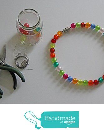 Halskette aus Original Polaris Perlen, glänzend und transluzent, Durchmesser 14 mm von der braindesign - hab eine Meinung und steh dazu https://www.amazon.de/dp/B06W599ZSL/ref=hnd_sw_r_pi_dp_cgWUybA2BDHZG #handmadeatamazon