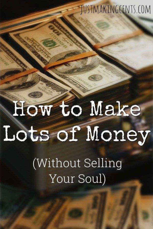 I've worked for millionaires and billionaires who were soulless. Here, I share how to make money without selling your soul!