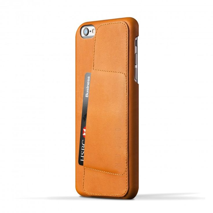 Mujjo 80° case for iPhone 6 Plus fits in your phone like a glove. Slim profile, high quality leather and slot for 2-3 cards make your daily round even more light and easy. The wallet case leaves the display and all connectors exposed, so you can use the phone and listen to your favorite music while your iPhone 6 Plus stays protected.